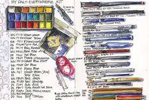 Art Kits & Supplies / by Jennifer Alvarez