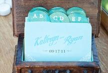 Wedding Table & escort card / by Paloma Kupersmith