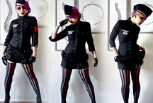Fashion: Dieselpunk / Dieselpunk: alternate historical fashion inspired by the styles of the 1920's through the 1940's, with diesel-powered technology. / by Anne Almasy