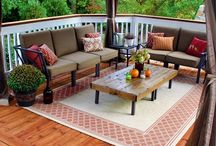 Outdoor Living Space / by Beckie Farrant {infarrantly creative}