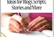 writing / by Marydee Freeman East