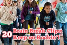 brain breaks / by Kathy Jo Cox