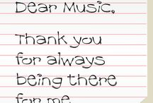 Music I love / by Audra Jackson