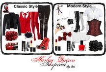 Harley-Quinn Fashion. / by Sarahbellum27 czajka