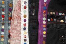 Stitching Inspiration / Fiber Art and Inspirations.  Digital textiles, ecodye, and stitch. / by Kristin Hoelscher-Schacker