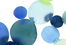 Watercolour Wonderland  / Inspiration board for our OMHG forum work party  / by Oh My! Handmade