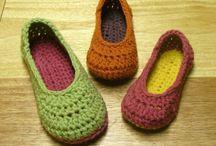 Crochet: Things / Crochet scarfs, mittens, slippers / by Cheri Sheets-Ferguson