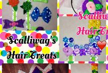 Scalliwag's Hair Treats / Hair bows, headbands, accessories for your little sweeties. / by Sandi Eckberg