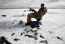 Ice Fishing / Ice Fishing equipment, tips, techniques, articles, etc. / by Karen Matus