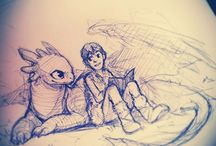 How to train your dragon / I <3 the first one and the second one!!!!;)if you ever see the second one just remember to bring 1 or 2 tissues!;(ok? / by Isabelle Salehi