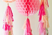 Party Decorations / All purpose party decorations. / by Souris Hong-Porretta