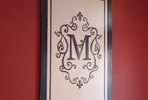 Monogram It / by Paula McChristian