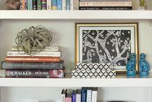 Bookshelves / by Hi!