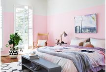 Pretty Pastels / Sweet as pie, light as marshmallow - we're falling for pretty pastels. Whether used as gorgeous accents or as an all-encompassing scheme, these colours are easy to live with. Not persuaded? Toughen up the look with black, acid yellow or hard edged metallics. / by Temple & Webster