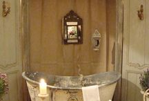 dream bathroom / by Michelle Janes