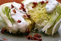 yummy salads / by Kim Fitzgerald