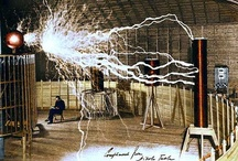 """Nikola Tesla / """"If you want to find the secrets of the universe, think in terms of energy, frequency and vibration."""" ~Nikola Tesla  / by Nanette Clark"""