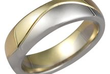 Modern Wedding Bands / by Krikawa Jewelry Designs