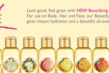 Beautifying Oils / by The Body Shop CA