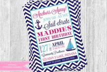 Nautical Party / by Veronica InvitingPrintables