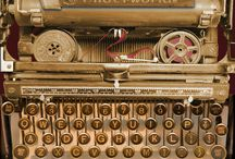 typewriters / by Donna Smith