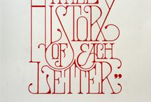Typography   / by Jessica Moore