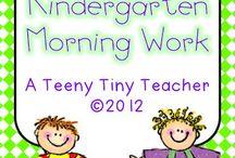 Kindergarten! / by Rachel Teasley