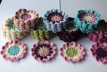 Вязание крючком цветы пошаговое фото