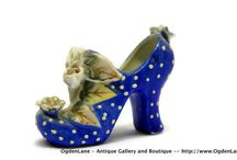 GLASS SLIPPERS SHOES & BOOTS / by Bobbie Endicott