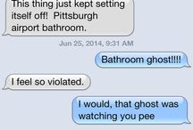 Funny Texts between Bird Lady Katherine Grand and Man Shoe Kirstie Pike / by PROIS HUNTING APPAREL FOR WOMEN