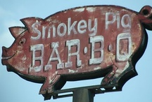 BBQ Signs / Cool BBQ signs. / by Pork Barrel BBQ
