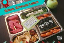 Back to School Lunch Ideas and Tips / Great #BacktoSchool lunch ideas, tutorials, tips, and just stuff to make school lunch packing easier and more fun! / by Lunchbox Dad