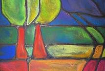 Homeschool art & Art Journals / Ideas for teaching homeschool art history, plus plenty of prompts for art journals -- applied art. / by Samantha Millard