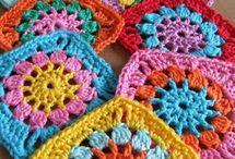 Crochet Squares / by Ann Falkner