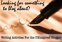 Blogging Ideas / by Michelle Jefferson