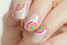 Really cute nail art / by Kristy Odom