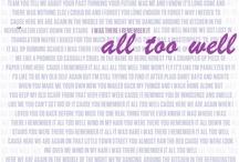 Song Lyrics / by Bella Dea