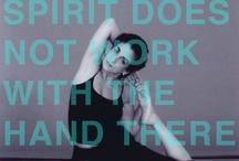 yoga |ˈyōgə| / by Karen La Du