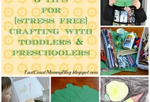 Preschool Crafts / Easy crafts that are great for toddlers and preschoolers / by Gina Bell... East Coast Mommy