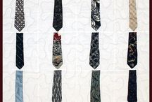 Tie Quilts / Here are some examples of what we can do with ties, but your imagination is the limit. / by Campus Quilt Company