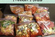 Freezer meals / by Annie Hartwig