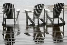Adirondack Chairs / by Kimberly Hamner