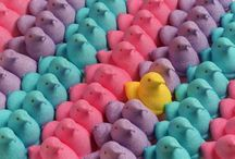 Glittery, Fluffy, Gℓαмourous...Peeps ✿ / What's not to love.... / by Deena Leigh