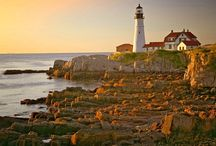 Lighthouses....OH How I Adore Thee. / by Christina Smiley