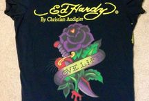 Ed Hardy Womens 1X Super Cute TShirt / by Weight Watcher Girl