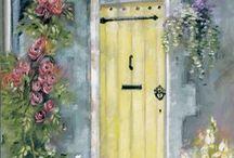 Art - Home Sweet Home / by Ginny Barrett