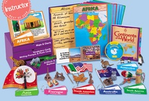 """Continents Study / We love learning about geography!  To comply with the US Copyright Office, section 107, all of my Pinterest boards and pins are for """"criticism, comment, news reporting, teaching, scholarship, and research"""" as well as for nonprofit, educational purposes""""... I am not a lawyer, but tried to make sense of this: http://www.copyright.gov/fls/fl102.html / by Colleen a.k.a. Pinterest Mama"""