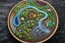Cross Stitch & Embroidery / by Sarah Lomba DeGrandis