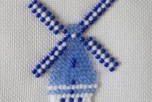 Needlework Blue and White / by Elisabeth Ames