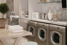 LAUNDRY ROOMS / by Julie Ward-Bliss